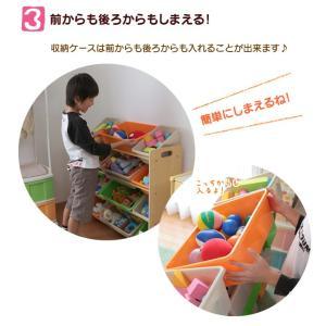 おもちゃ 収納 おもちゃ収納 おもちゃ箱 子供 収納 おしゃれ ラック トイハウスラック 4段 THR-4CA トイラック 子供部屋収納 (タイムセール!)|sukusuku|07