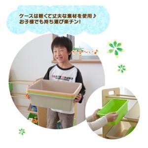 おもちゃ 収納 おもちゃ収納 おもちゃ箱 子供 収納 おしゃれ ラック トイハウスラック 4段 THR-4CA トイラック 子供部屋収納 (タイムセール!)(セール)|sukusuku|08