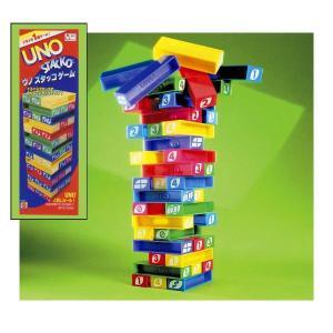 UNO ウノスタッコゲーム  (カードゲーム/マテル・インターナショナル)(T)プレゼント・ギフト sukusuku