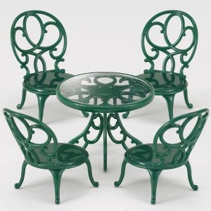 とってもおしゃれなデザインの、ガーデンテーブルとイスのセットです♪ とってもおしゃれなデザインのテー...