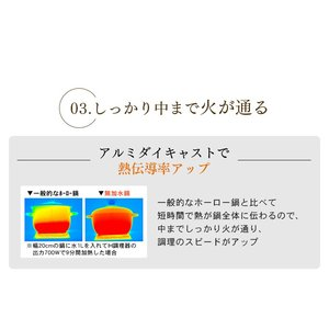 (在庫処分)鍋 無加水鍋 おしゃれ デザイン無加水鍋 GMKS-24D アイリスオーヤマ|sukusuku|14