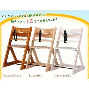 ベビーチェア おしゃれ ハイチェア キッズチェア 椅子 木製 子ども用 クッション ハイタイプ 子供 グローアップチェア 安全 ベルト付 人気|sukusuku|06