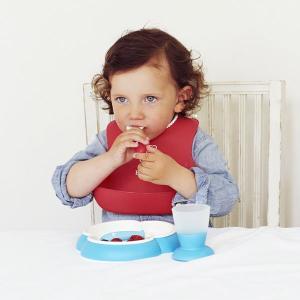 お食事エプロン よだれかけ スタイ 食事用 シリコン 洗える エプロン 子供 こども 赤ちゃん 保育園 ベビービョルン 離乳食 食べこぼし ポケット  水洗い ベビー|sukusuku|03