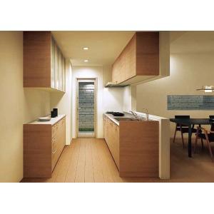 システムキッチン シエラ PLAN11 収納部 カップボードのみ サンウェーブ リクシル|suma-colle