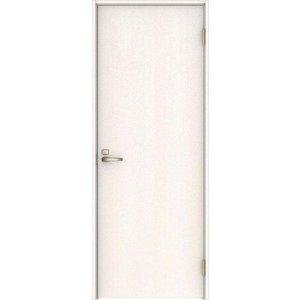 ハピアベイシス 音配慮ドア 居室タイプ片開き 00デザイン扉 2000高 755幅 ネオホワイト 大建工業の建具