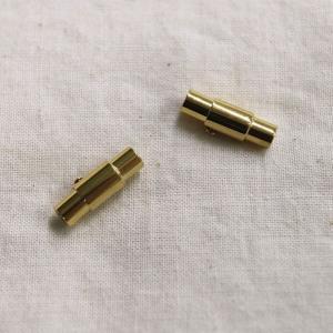 ワンタッチ マグネットクラスプ ライトゴールド 1ヶ|sumaccessory