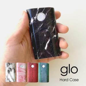glo グロー ケース シンプル シック グローケース 大理石 木目 ツヤ デザイン gloケース gloカバー カバー 電子たばこ タバコ 充電可能  メール便送料無料