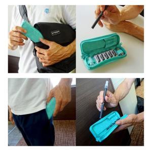 プルームテック ケース マウスピース装着 ラウンドファスナー PloomTECH ケース カバー 収納ケース カバー カートリッジ たばこカプセル マウスピース 合皮|sumahogo|10