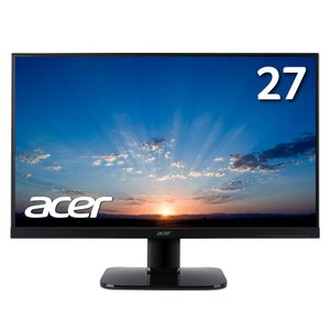Acer モニター ディスプレイ KA270HAbmidx 27インチ フレームレス VA HDMI端子対応 スピーカー内蔵 ブルーライト軽減|sumahoselect