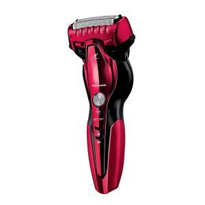 パナソニック ラムダッシュ メンズシェーバー 3枚刃 お風呂剃り可 赤 ES-ST6Q-R|sumahoselect