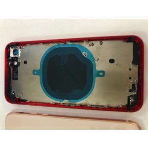 iPhone 8 ミドルフレーム 背面ガラス カメラレンズ付き 全4色 ゴールド シルバー ブラック レッド 修理 交換 リペア バックプレート|sumahoselect