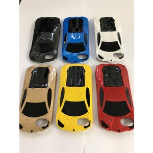 iPhone 8 7 スマホケース カーデザイン 車型 スーパーカー ハードケース 車 car おしゃれ スタンドケース カウンタック風|sumahoselect