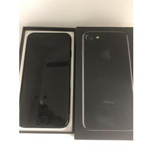 Softbank iPhone7 256GB ジェットブラック スマホ 本体 中古 Apple MNCV2J/A|sumahoselect