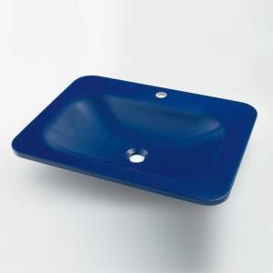 カクダイ 角型洗面器 marmorin|sumai-diy