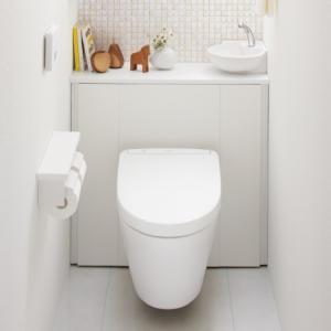 TOTO レストパルF 床排水 I型手洗器あり すっきり収納タイプ UWFGB1RFN31NN1WEA|sumai-diy