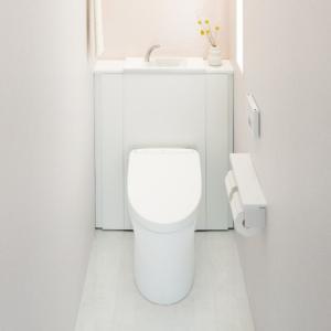 TOTO レストパル 床排水 I型手洗器あり スリム収納タイプ UWCCC1CFN31NN1WBA|sumai-diy