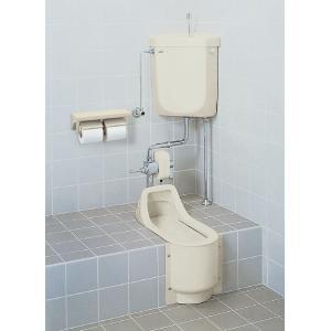 LIXIL 和風簡易水洗便器 トイレーナF 流動方式/壁給水/手洗付 TWC-200B_TF-870EJF|sumai-diy