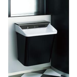 LIXIL 多機能洗面器 ジェットボウル 壁掛タイプ/壁排水/グレードW1/電気温水器付 L-C21W1_LF-21PA-W|sumai-diy
