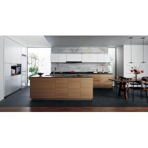 Panasonic Lクラス キッチン II型壁付け+セミフロート アイランドプラン l-class_plan1|sumai-diy