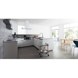 Panasonic Lクラス キッチン U型フラット セミフロート 対面プラン l-class_plan2|sumai-diy