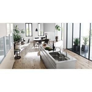 LIXIL リシェルSI オープン対面キッチン richelle_plan5|sumai-diy