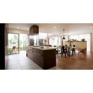 LIXIL リシェルSI オープン対面キッチン richelle_plan8|sumai-diy