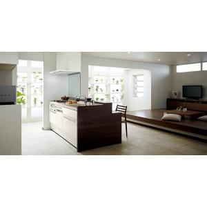 LIXIL リシェルSI オープン対面キッチン richelle_plan10|sumai-diy