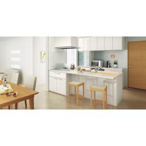 LIXIL リシェルSI オープン対面キッチン richelle_plan18|sumai-diy