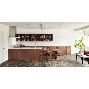 生活を楽しむキッチン。 どんな個性のインテリアにも、なじむことのできる、新しい住まいのプラットフォー...