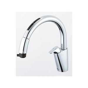 LIXIL キッチン用タッチレス水栓 ナビッシュ(エコセンサー付) B7タイプ SF-NB471SXU|sumai-diy