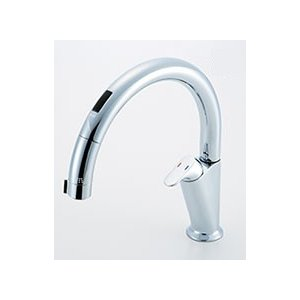 LIXIL キッチン用タッチレス水栓 ナビッシュ A5タイプ SF-NA451SU|sumai-diy