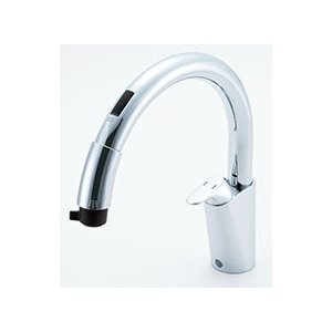 LIXIL キッチン用タッチレス水栓 ナビッシュ B5タイプ SF-NB451SXU|sumai-diy