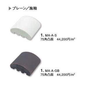 クラフトタイル クラフトタイル イチマツ 75角凸面 60個/箱 【注文生産品】 MA-A-GB|sumai-diy|02