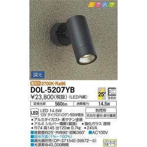 大光電機  LED スポットライト DOL-5207YB sumai-diy
