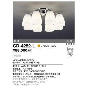 山田照明 シャンデリア 電球色 非調光 〜14畳 CD-4282-L sumai-diy