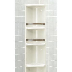 LIXIL 浴室収納棚(隅付) 落下防止バー付 YR-312 sumai-diy