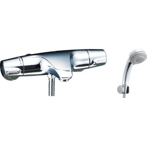 LIXIL シャワーバス水栓 洗い場専用 サーモスタット ジュエラ エコフルタ機能シャワー BF-J147TSB sumai-diy