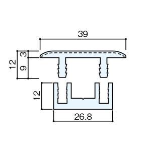 住友林業クレスト  床見切りフロアー用(樹脂) W1800 BA90/WB-18〜TP-18|sumai-diy