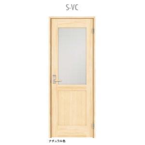 ウッドワン ピノアース シングルドア S-VC 調整枠 pino_plan3|sumai-diy
