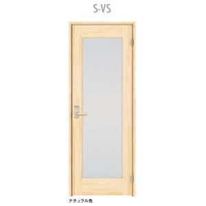 ウッドワン ピノアース シングルドア S-VS 調整枠 pino_plan6|sumai-diy