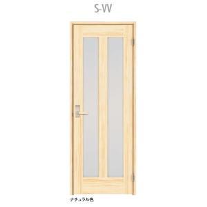 ウッドワン ピノアース シングルドア S-VV 調整枠 pino_plan7|sumai-diy