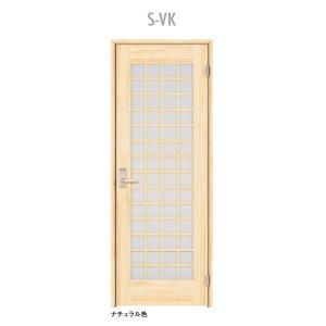 ウッドワン ピノアース シングルドア S-VK 調整枠 pino_plan8|sumai-diy