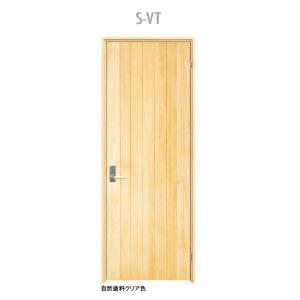ウッドワン ピノアース シングルドア S-VT 調整枠 自然塗料クリア色 pino_plan9|sumai-diy