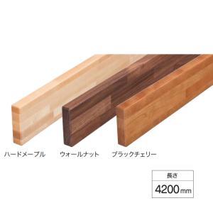 ウッドワン 階段手すり部材 ボードレール 4200mm TTB*42-7-B|sumai-diy