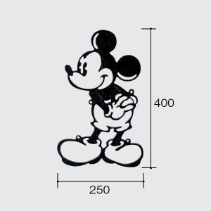 パナソニック ディズニーシリーズ 壁飾り ミッキーマウス・シングルタイプ(A) B523F1|sumai-diy