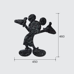 パナソニック ディズニーシリーズ 壁飾り ミッキーマウス・シングルタイプ(B) B525F1|sumai-diy
