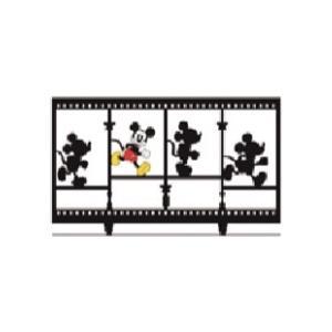 LIXIL ディズニー フェンス ミッキーC型 ブラック+フルカラー(ひとり) 【受注生産品】 disneyfmcf1|sumai-diy