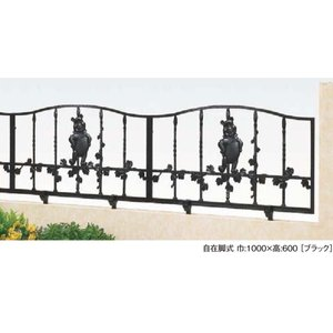 LIXIL ディズニー フェンス プーさんB型 ブラック 【受注生産品】 disneyfpbk|sumai-diy