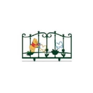 LIXIL ディズニー フェンス プーさんA型 モスグリーン+フルカラー 【受注生産品】 disneyfpaf|sumai-diy