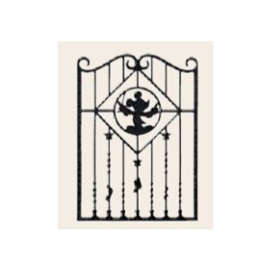 LIXIL ディズニー 面格子 ミッキーB型 ブラック W750 【受注生産品】 disneymemb750k|sumai-diy